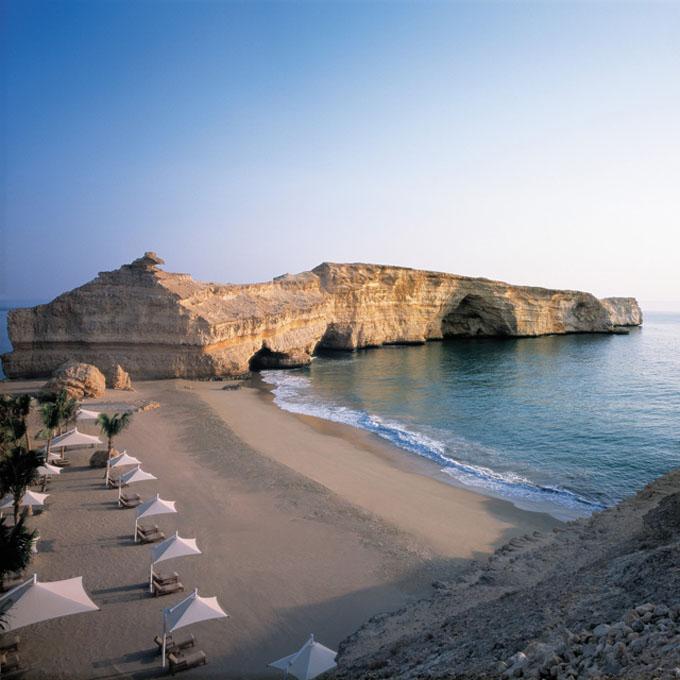 Private Beach, Oman