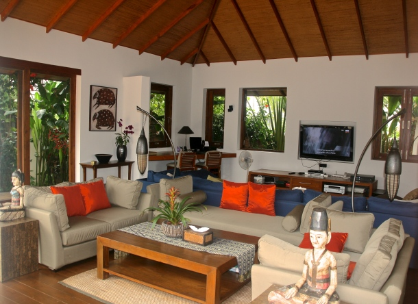 Living area - Baan Mika