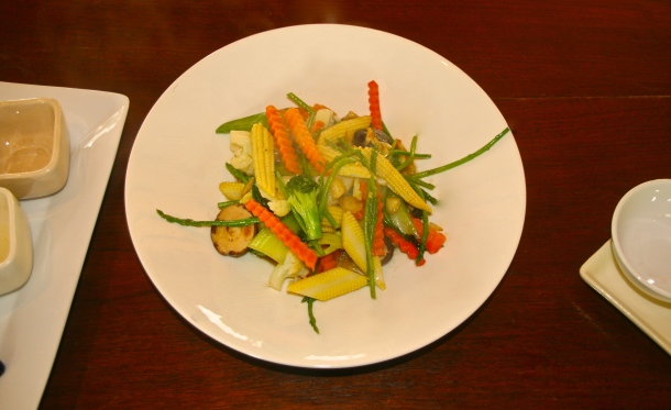 Wok Tossed Veggies - all fresh produce from the local markets!