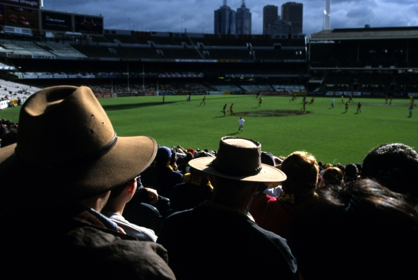 The mighty MCG (Melbourne Cricket ground) - pic courtesy of genuardis.net