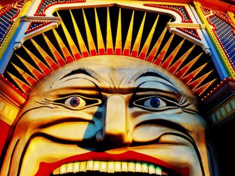 Melbourne Icon - Luna Park